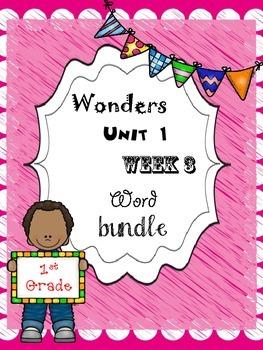 Wonders 1.3 Word Bundle