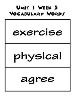 Wonders 1.5 Word Bundle