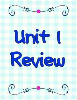 Wonders 1.6 Review Week