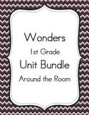 Wonders 1st Grade Around the Room Activities Units 1-6 BUNDLE