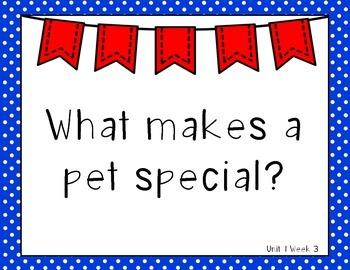 Wonders 1st Grade Essential Questions Units 1-6
