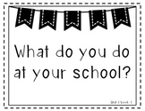 Wonders 1st Grade Essential Questions Units 1-6 Black and