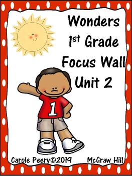 Wonders 1st Grade Focus Wall Unit 2