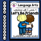 Wonders 1st Grade Let's Be Friends Supplement+Digital Soun