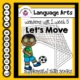 Wonders 1st Grade Let's Move Supplement+Digital Sound-Spel