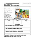Wonders 1st Grade Literature Anthology Stories