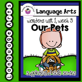 Wonders 1st Grade Our Pets Supplement + Digital Sound-Spel