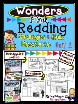 Wonders 1st Grade Reading Comprehension Strategies and Skills Resource Unit 2