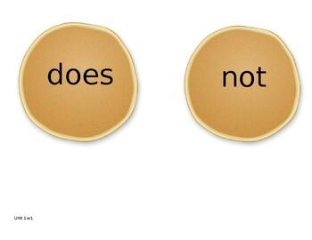 Wonders 1st Grade Sight Words Game