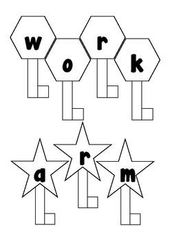 Wonders 1st Grade Spelling Keys 5-2