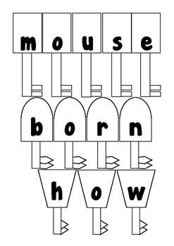 Wonders 1st Grade Spelling Keys 5-4