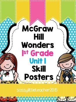 Wonders 1st Grade Unit 1 Posters