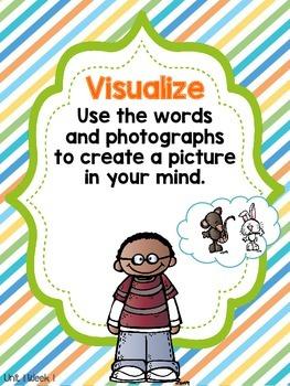 Wonders 1st Grade Unit 1 Week 1 Posters