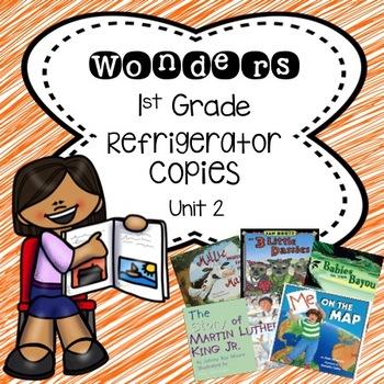 Wonders 1st Grade Unit 2 Refrigerator Copy