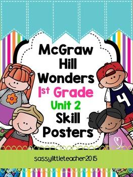 Wonders 1st Grade Unit 2 Skill Posters