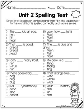 Wonders 1st Grade Unit 2 Week 6 Activities