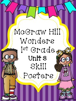 Wonders 1st Grade Unit 3 Posters