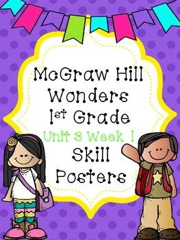 Wonders 1st Grade Unit 3 Week 1 Posters