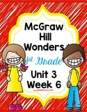 Wonders 1st Grade Unit 3 Week 6 Activities