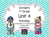 Wonders 1st Grade Unit 4 Activities Weeks 1-5