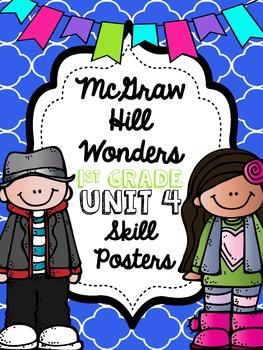 Wonders 1st Grade Unit 4 Posters