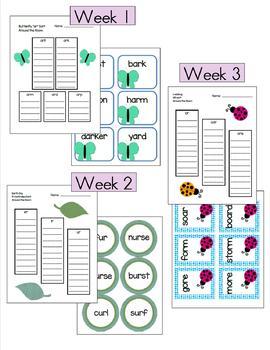 Wonders 1st Grade Unit 5 Around the Room Activities