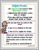 1st Grade Wonders Unit 5 Week 2 Grammar Charts and Assessments