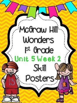 Wonders 1st Grade Unit 5 Week 2 Posters