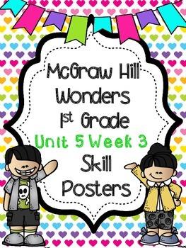 Wonders 1st Grade Unit 5 Week 3 Posters