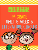 Wonders 1st Grade Unit 5 Week 5 Literature Circles