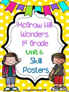 Wonders 1st Grade Unit 6 Posters