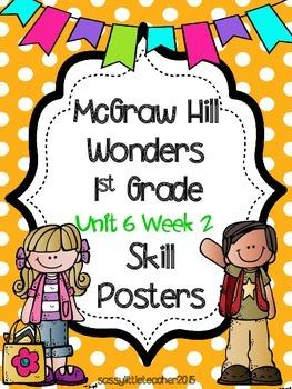 Wonders 1st Grade Unit 6 Week 2 Posters