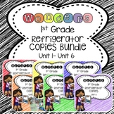 Wonders 1st Grade Units 1-6 Bundle Refrigerator Copy