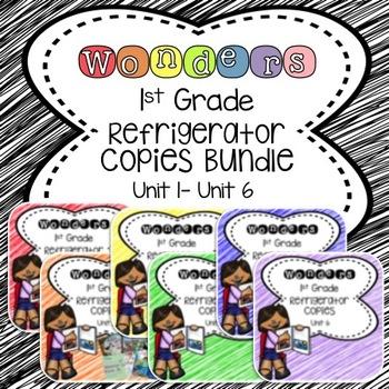 Wonders 1st Grade Units 1-6 Bundle Refrigerator Copy
