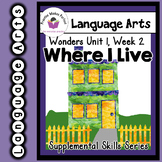 Wonders 1st Grade Where I Live Supplement + Digital Sound-