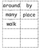1st grade Wonders High Frequency Words Unit 2