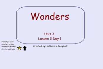Wonders 1st grade Unit 3 Week 3