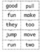 1st grade Wonders High Frequency Words Units 1-6