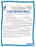 Wonders 2014 Third Grade Vocabulary Activities and Tests f