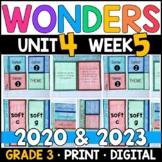 Wonders 2020 3rd Grade, Unit 4 Week 5: The Winningest Woman Aligned Supplements