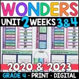 Wonders 2020 4th Grade Unit 2 Weeks 3 & 4: Ranita Frog Princess w/ GOOGLE Slides
