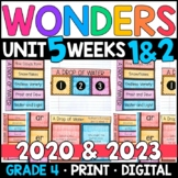 Wonders 2020 4th Grade, Unit 5 Weeks 1 & 2: A Drop of Water w/ GOOGLE Classroom