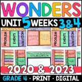Wonders 2020 4th Grade, Unit 5 Weeks 3 & 4: Mama, I'll Give You World w/ GOOGLE