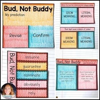Wonders 2020 5th Grade, Unit 5 Weeks 3 & 4: Bud, Not Buddy Supplements