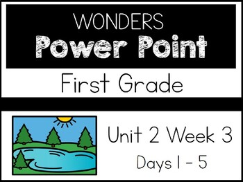 Wonders 2020. First Grade. Power Point. Unit 2 Week 3.