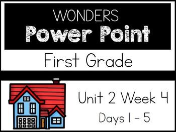 Wonders 2020. First Grade. Power Point. Unit 2 Week 4.