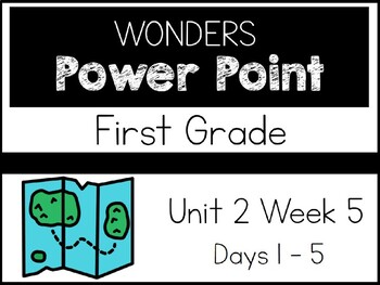 Wonders 2020. First Grade. Power Point. Unit 2 Week 5.