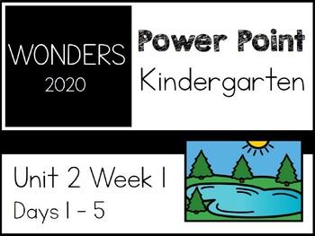 Wonders 2020. Kindergarten. Power Point. Unit 2 Week 1.