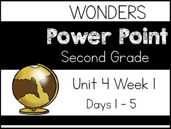 Wonders 2020. Second Grade. Power Point. Unit 4 Week 1.
