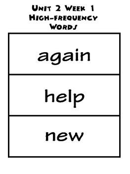 Wonders 2.1 Word Bundle